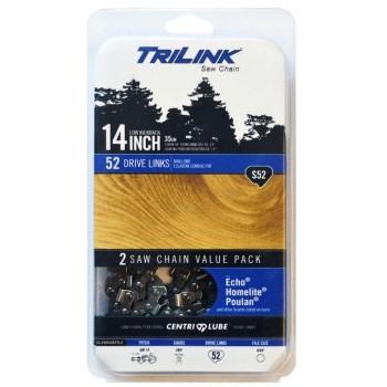 TriLink Saw Chain CL15052X2TL2 2pk 14in. S52 Chain