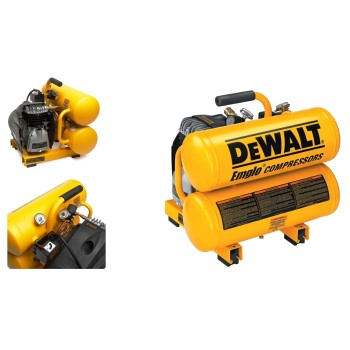 DeWalt D55151 Electric Twin Stack Compressor ~ 2 HP
