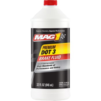 120 Qt Mag1 Dot 3 Brake Fluid
