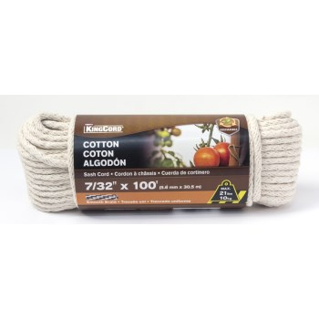 7/32x100 Cotton Rope