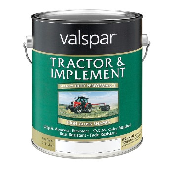 Valspar/McCloskey 18-4431-14-07 Tractor & Implement Paint, White ~ Gallon