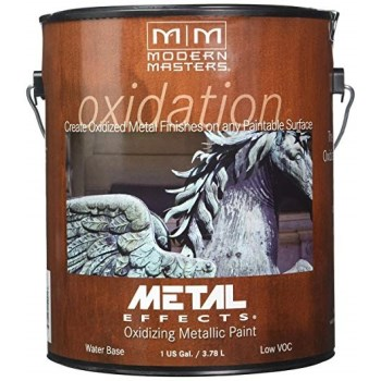 Metal Effects Reactive Paint, Copper - One Gallon