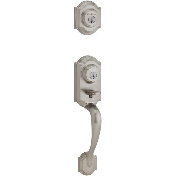 Montara Handleset with Smartkey - LIP ~ Satin Nickel