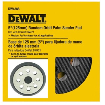 DeWalt DW4388 Sander Replacement Pad