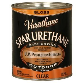 Rust-Oleum 9241 Varathane Exterior Spar Urethane, Gloss Quart