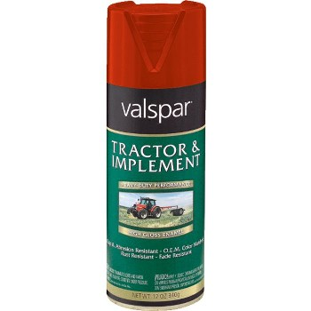 Valspar/McCloskey 18-5339-01-72 Tractor & Implement Paint,  Red - 12 oz