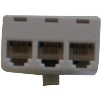 Bt-047 Wh 4x4x4 3-Line Adapter