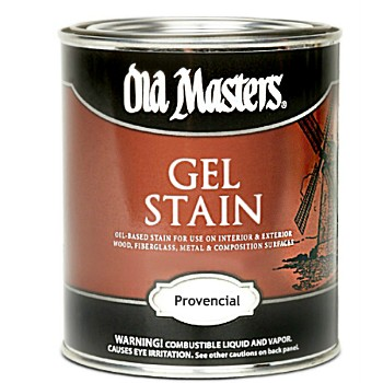 Gel Stain, Oil Based -  Provencial ~ Quart