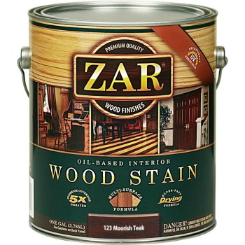 Wood Stain,  Moorish Teak ~ Gallon