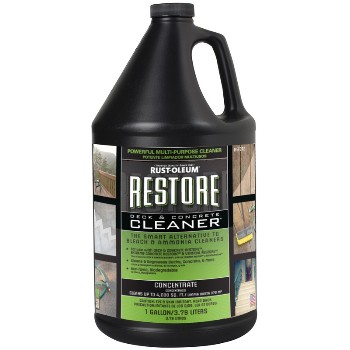 Buy the rust oleum 51752 restore deck concrete cleaner for Cement cleaning solution