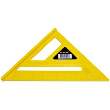 Great Neck 11057 Rafter Square, Plastic 7 inch