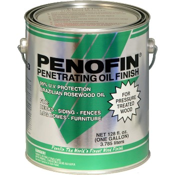 Penofin Penetrating Oil Finish for  Pressure Treated Wood, Tahoe ~ Gallon