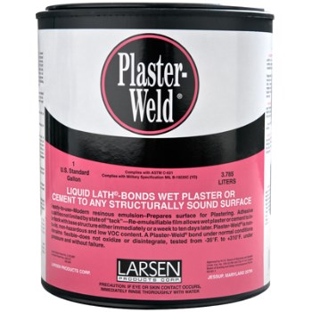 Plaster-Weld Bonding Agent  ~ Gallon