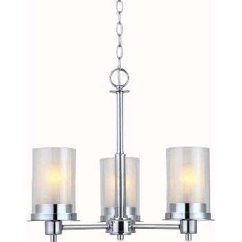 Avalon 3 Light Chandelier ~ Chrome