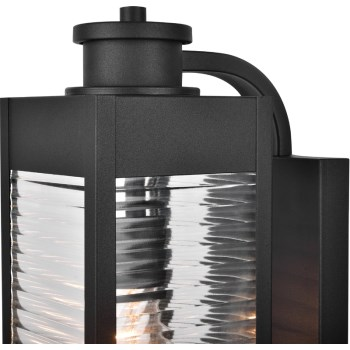 Blk Photo Cell Lantern