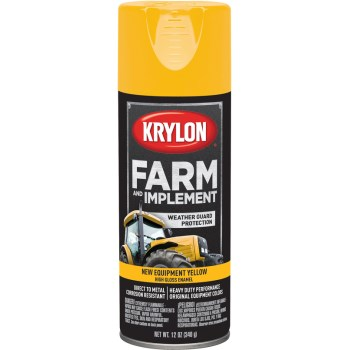 Krylon K01944000 1944 Sp New Equipment Yellow