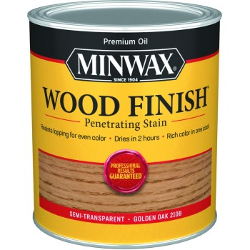 Wood Finish ~ Golden Oak,  Quart