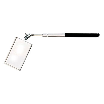 "General Tools 560 Telescoping Inspection Mirror ~ 3 1/2"" x 2"""