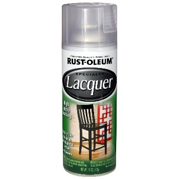 Lacquer ~ Gloss, Clear - 11oz Spray Cans