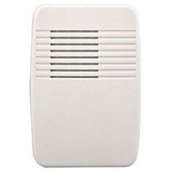 Wireless Doorbell Receiver, Plug-in Style - White