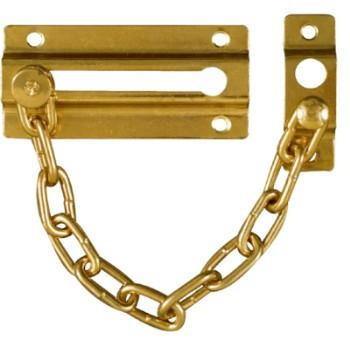 National 183590 Brass Door Chain