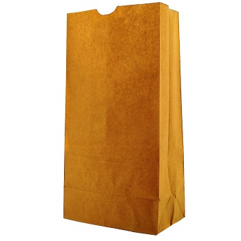 Clayton Paper DUR18424 25# Brown Grocery Bag ~ Pack of 500