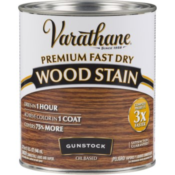 Buy the rust oleum 262007 varathane premium fast dry interior wood stain gunstock quart Oil based exterior paint brands