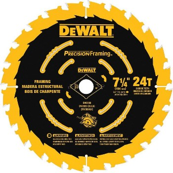 7-1/4in. 24t Saw Blade