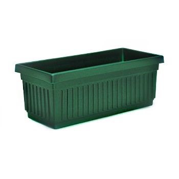 Flowerbox/Venetian Style - Evergreen Color - 29.5""
