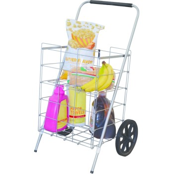Folding Cart w/ Shelf ~ 2 Wheel