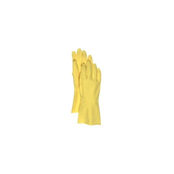 Boss 958M Latex Gloves - Lined - Medium