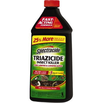 Triazicide Concentrate Insect Killer for Lawns & Landcapes ~ 40 oz