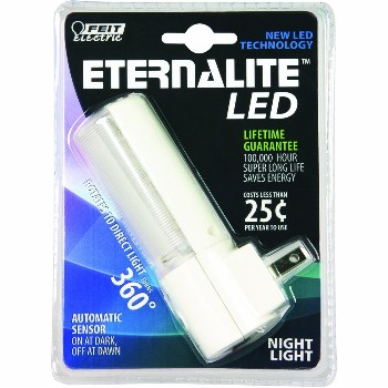 Feit Elec. NL5/LED Night Light,  Rotating Eternalite Auto Sensor