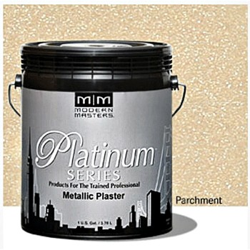 Metallic Plaster, Parchment ~ Gallon