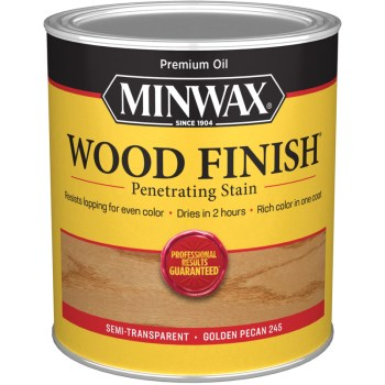 Wood Finish ~ Golden Pecan,   Quart