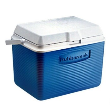 Ice Chest Cooler~ Blue, 24 Quart