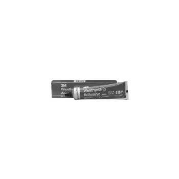 3M 8011 Weatherstrip Adhesive, Black ~ 5oz.