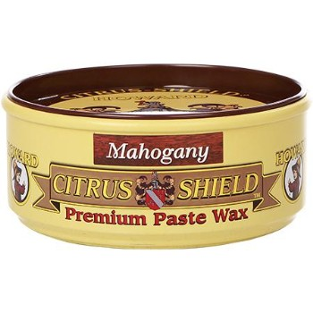 Premimum Mahogany Citrus Shield Paste Wax, 11 Oz