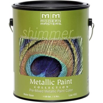 Metallic Paint, Nickel  ~ Gallon