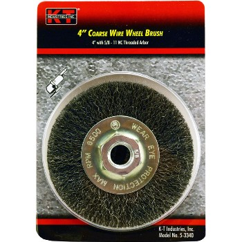 4in. Coarse Wheel Brush