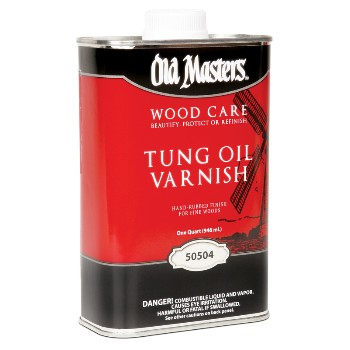 Tung Oil Varnish ~ Quart