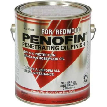 Redwood All Heart Penetrating Oil Finish ~ Gallon
