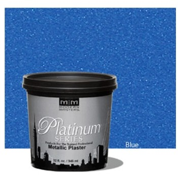 Metallic Plaster Coating ~ Blue/Quart