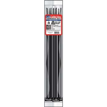 25in. 25pk Cable Ties