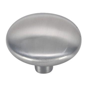 Hardware House  Round Cabinet Knob, Satin Nickel 1 1/4 inch