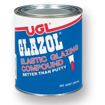 Glazol Elastic Glazing Compound ~ Gallon
