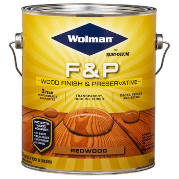 Wolman F & P Finish & Preservative, Redwood