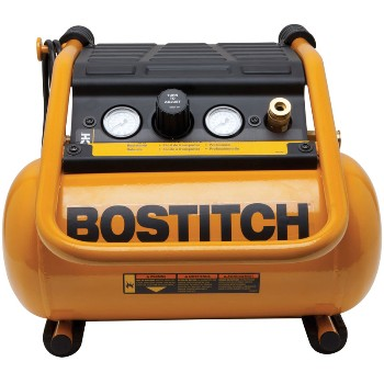 Black & Decker/stanley/bostitch Btfp01012 Suitcase Style Air Compressor ~ 2 1/2 Gallon Tank