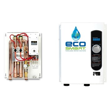 Ecosmart Green Energy ECO 18 Tankless Water Heater, Electric ~ 18W, 240V