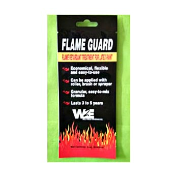 Flame Guard Flame Retardant Paint Additive ~ 6  oz  Pouch
